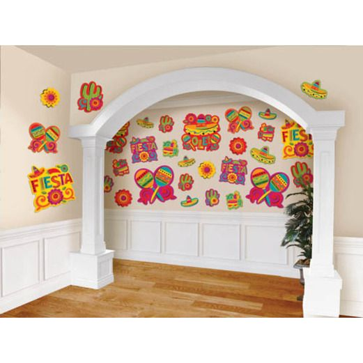 Cinco de Mayo Decorations Fiesta Cutouts Value Pack Image
