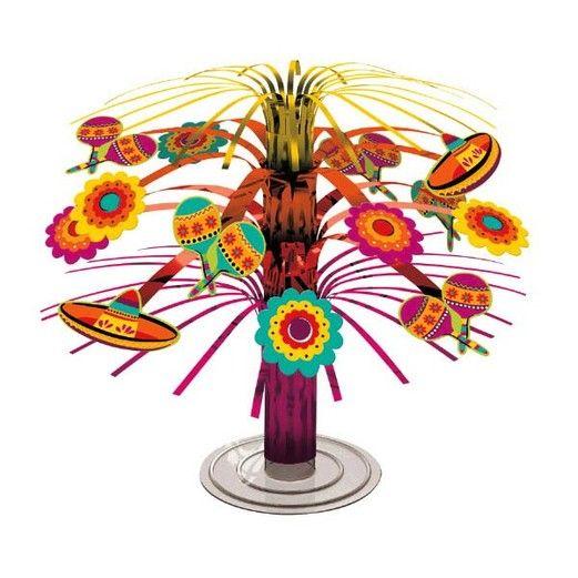 Cinco de Mayo Decorations Mini Cascade Fiesta Centerpiece Image