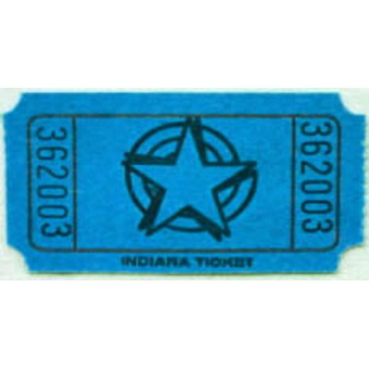 Tickets & Wristbands Blue Star Ticket Roll Image