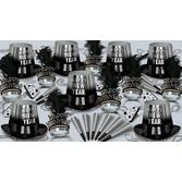 New Years Party Kits Silver Entertainer Party Kit for 50 Image