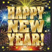 New Years Table Accessories New Year's Fireworks Lunch Napkins Image