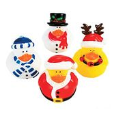 Christmas Favors & Prizes Holiday Rubber Duckies Image