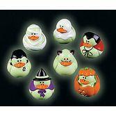 Halloween Favors & Prizes Glow in the Dark Halloween Duckies Image