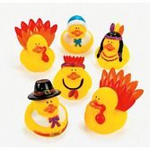 Thanksgiving Favors & Prizes Thanksgiving Duckies Image