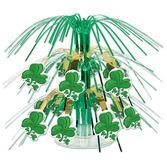 St. Patrick's Day Decorations Mini Shamrock Centerpiece Image
