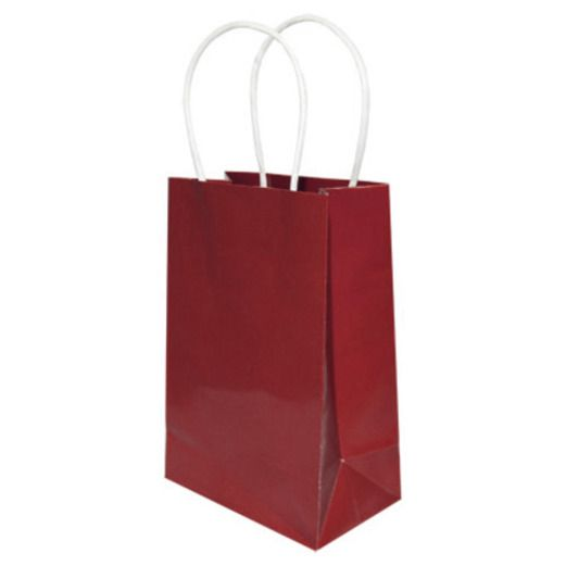 Gift Bags & Paper Small Gift Bag Burgundy Image