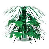 Graduation Decorations Green Mini Graduation Cap Centerpiece Image