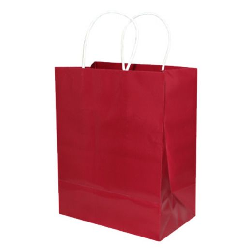 Gift Bags & Paper Medium Gift Bags Burgundy Image