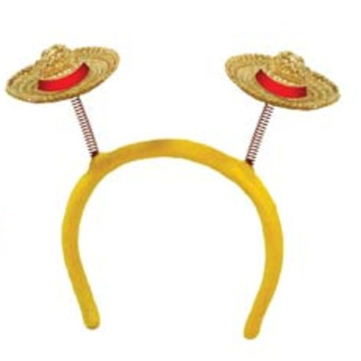 Cinco de Mayo Hats & Headwear Sombrero Head Bopper Image