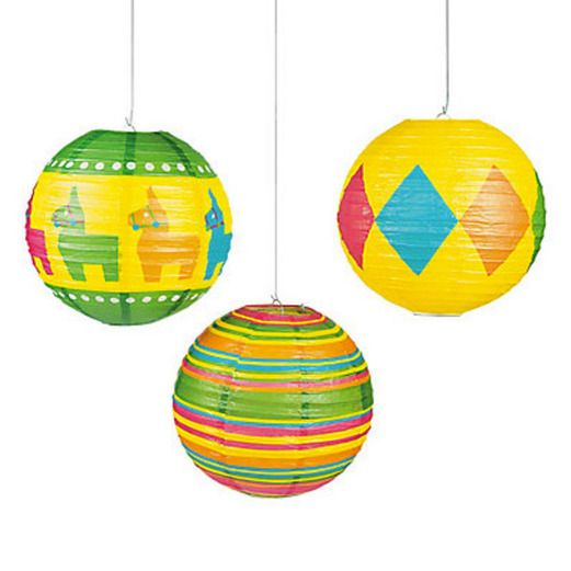 Fiesta Decorations Fiesta Paper Lanterns Image