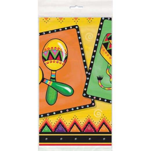 Cinco de Mayo Table Accessories Fiestivity Table Cover Image