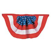4th of July Decorations American Woven Bunting Image