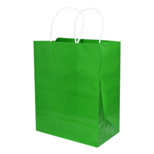 St. Patrick's Day Gift Bags & Paper Medium Gift Bag Green Image