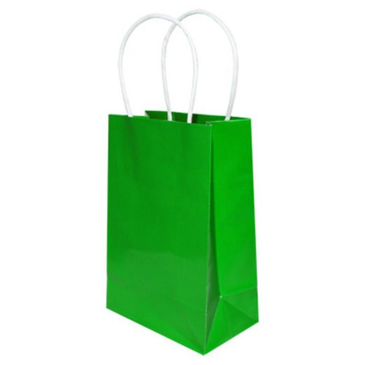St. Patrick's Day Gift Bags & Paper Small Gift Bag Green Image