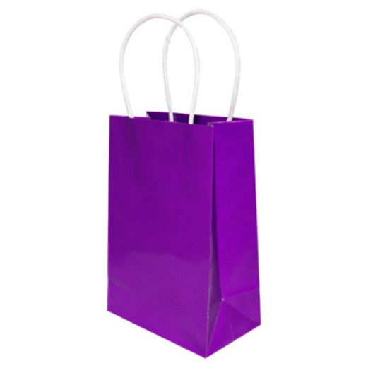 Gift Bags & Paper Small Gift Bag Purple Image