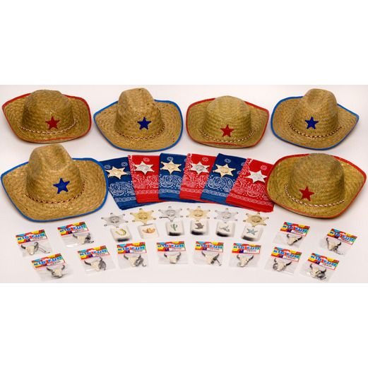 Western Party Kits Children's Western Party Kit for 12 Image
