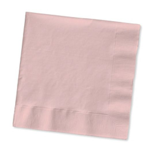 Valentine's Day Table Accessories Pink Luncheon Napkins Image
