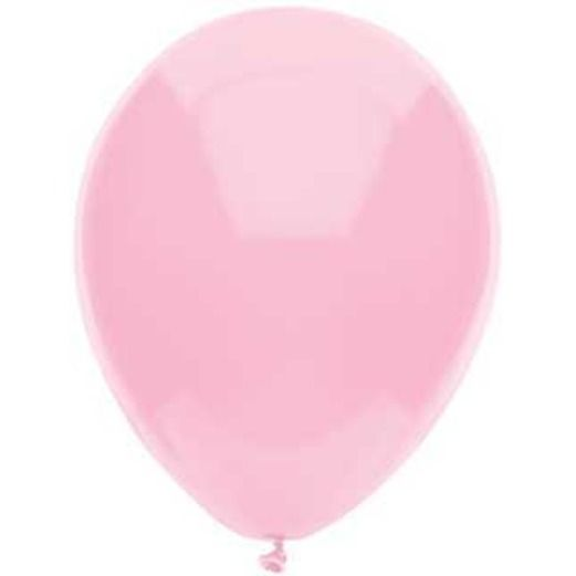 "Baby Shower Balloons 11"" Real Pink Value Balloons Image"