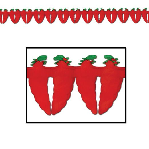 Cinco de Mayo Decorations Chili Pepper Garland Image