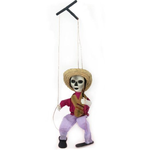 Day of the Dead Decorations Day of the Dead Female Marionette Image