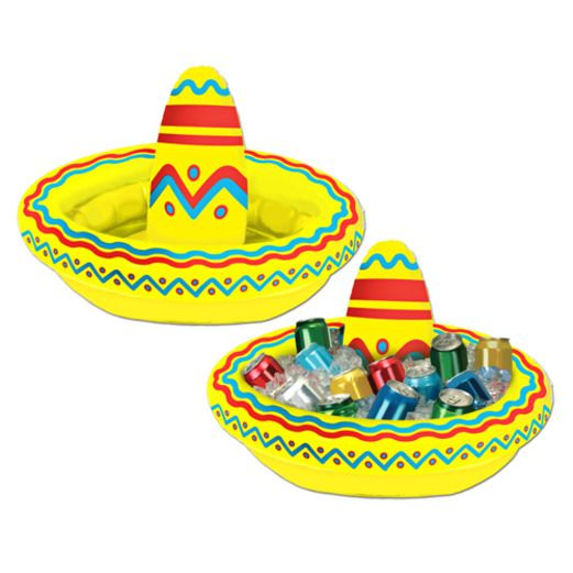 Cinco de Mayo Decorations Sombrero Cooler Inflate Image