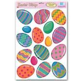 Easter Decorations Easter Egg Cling Magnets Image