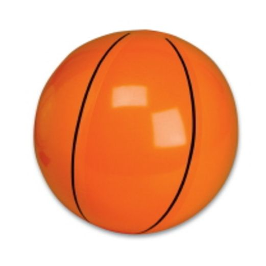 "Sports Favors & Prizes 9"" Basketball Inflate Image"
