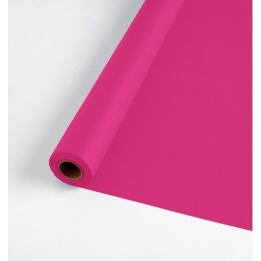 Valentine's Day Table Accessories 100' Hot Pink Table Roll  Image