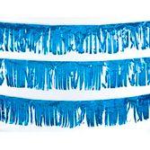 Decorations Blue Metallic Fringe Image