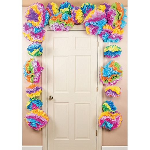 Cinco de Mayo Decorations Fiesta Flower Door Border Image