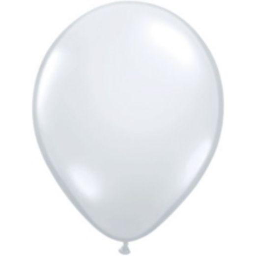 "Balloons 18"" Qualatex Clear Balloons Image"