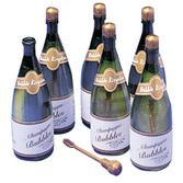 New Years Favors & Prizes Champagne Bottle Bubbles Image
