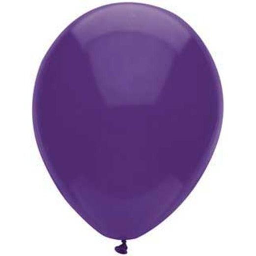 "Mardi Gras Balloons 11"" Regal Purple Balloons Image"