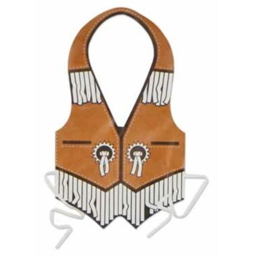 Western Party Wear Western Plastic Vest Image