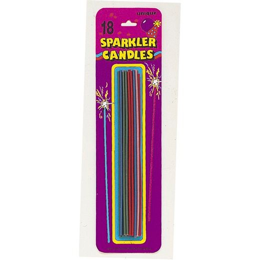 Birthday Party Decorations Sparkler Candles Image