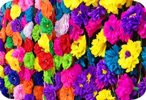 Mexican paper flowers mexican party supplies at amols fiesta mexican paper flowers mightylinksfo