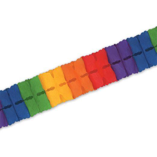 Cinco de Mayo Decorations Rainbow Leaf Garland Image