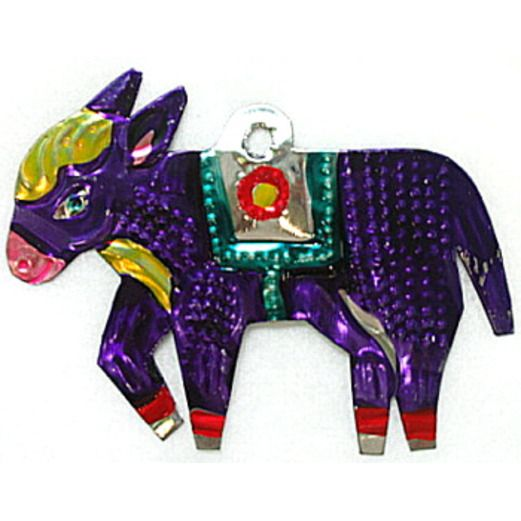 Cinco de Mayo Decorations Burro Tin Ornament Image