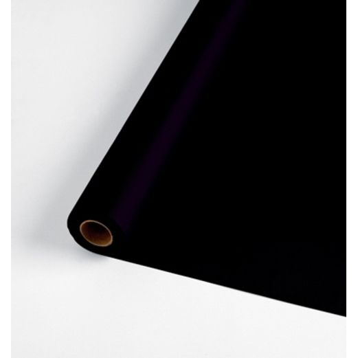 New Years Table Accessories 100' Table Roll Black Image