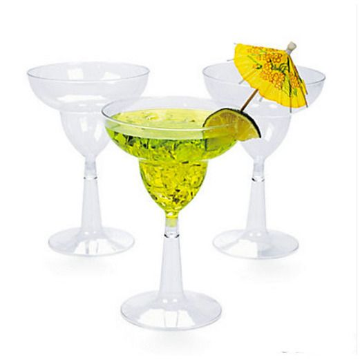 Fiesta Table Accessories Clear Margarita Glasses Image