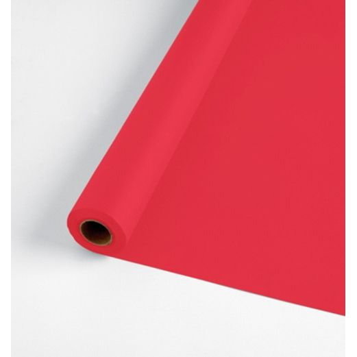 Valentine's Day Table Accessories 100' Red Table Roll  Image
