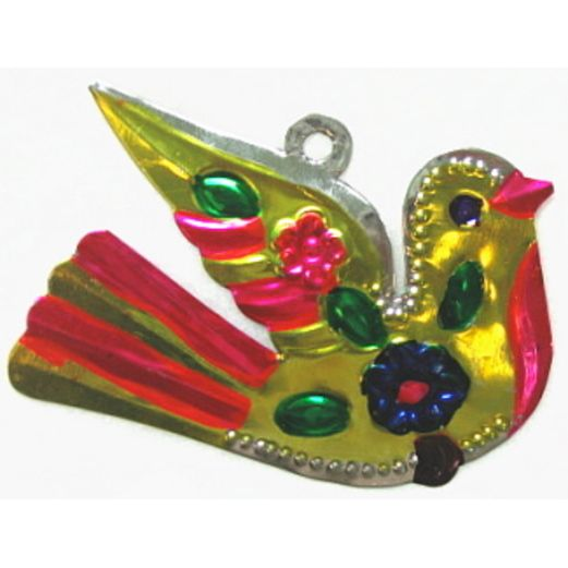 Cinco de Mayo Decorations Dove Tin Ornament Image