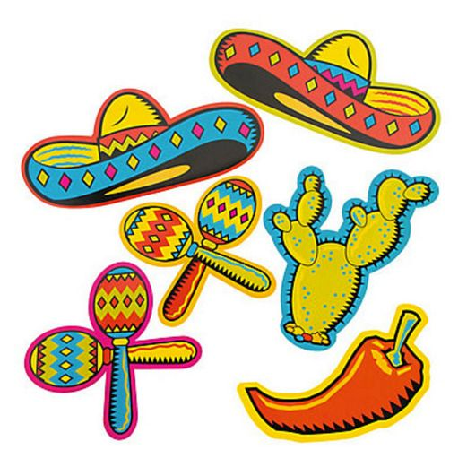 Fiesta Decorations Fiesta Cutouts Image