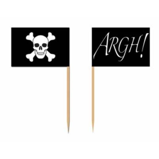 Pirates Table Accessories Pirate Flag Picks Image