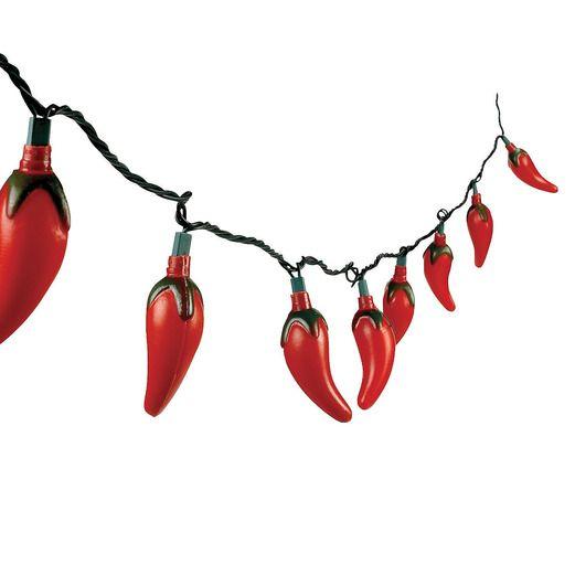 Cinco de Mayo Decorations Chili Pepper Light Set Image