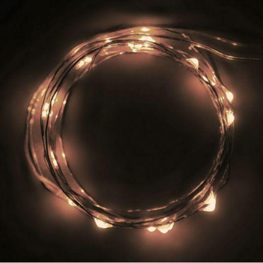 Warm White LED String Lights