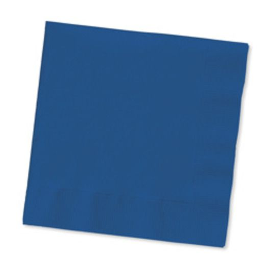 4th of July Table Accessories Navy Blue Beverage Napkins Image