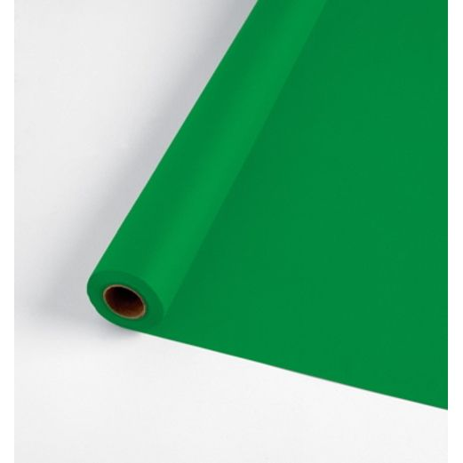 St. Patrick's Day Table Accessories 100' Green Table Roll  Image