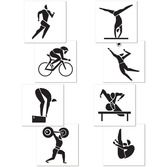 Sports Decorations Summer Sports Cutouts Image