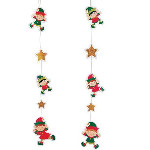 Christmas Decorations Elf Hanging Decorations Image